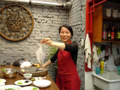 Cooking Class in Beijing,  2008