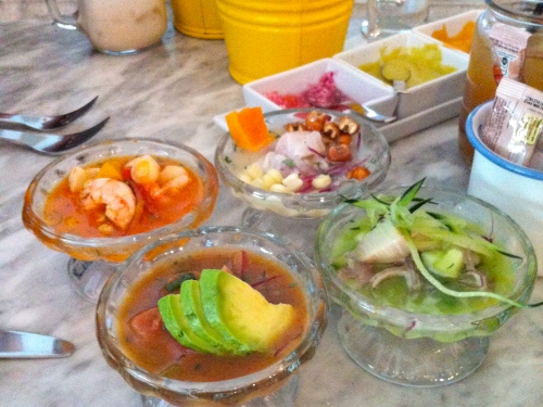 Cebiche Brunch