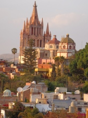 View of the Parroquia