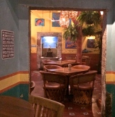 Entry way to great shrimp tacos