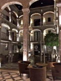 Interior Courtyard of Hotel 1810