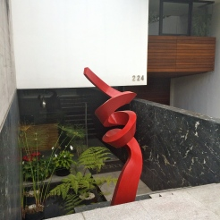 Water garden & sculpture