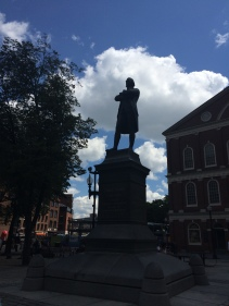 Guarding Faneuil Hall