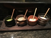 4 salts for the tempura