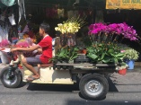 Flower store on wheels