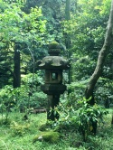One of many stone lanterns