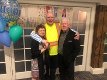 Brock's 75th Party